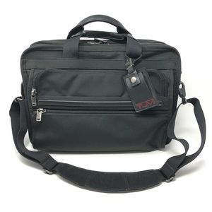 Tumi Alpha Essential Brief Laptop Carry On Bag ✈️